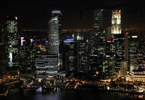 großstadt skyline