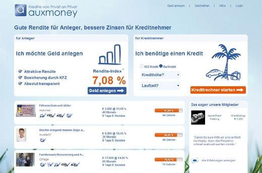 Erfahrung Auxmoney Anleger