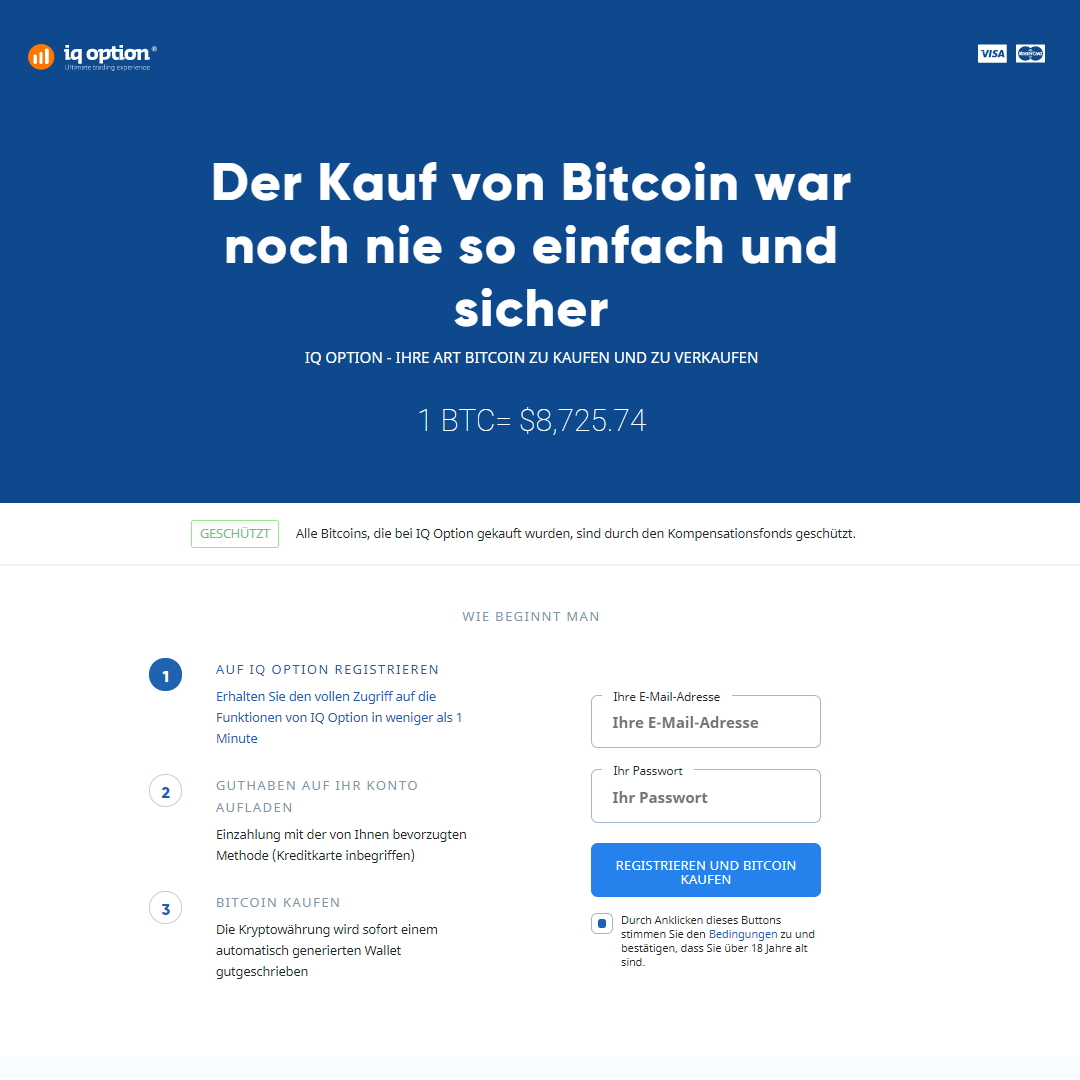 iqoption bitcoin homepage